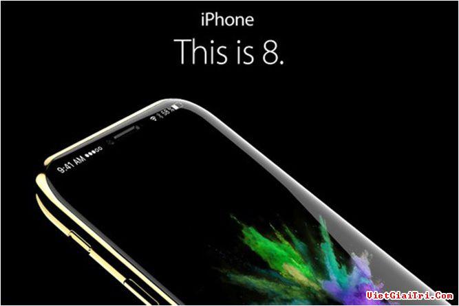 Một bản thiết kế iPhone 8. ẢNH CHỤP MÀN HÌNH