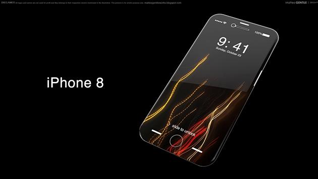 Suýt nữa thì chúng ta sẽ có một chiếc iPhone 8 màn hình cong tràn 4 cạnh như thế này.