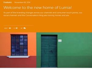 Micosoft Lumia