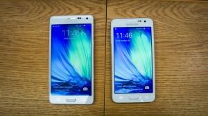 Galaxy A3 và Galaxy A5 dường như là những thử nghiệm với chất liệu kim loại của Samsung