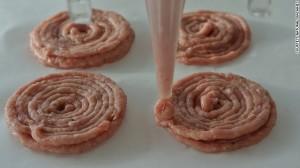 Thịt băm được xem như là nguyên liệu để đưa vào máy in