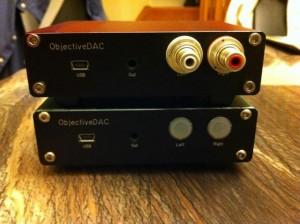 ODAC có thể cho cổng ra RCA hoặc 3.5mm