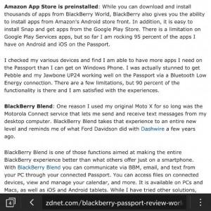 Qwerty BlackBerry Passport