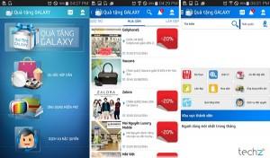 Quà tặng Galaxy là ứng dụng độc quyền của Samsung dành cho người sử dụng thiết bị của nhà sản xuất này