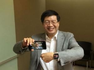 CEO của Asus, ông Jerry Shen. Ảnh: Focus Taiwan