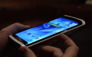 Youm, nguyên mẫu smartphone màn hình cong của Samsung
