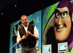 San Francisco Ca Steve Jobs Apple's Interim CEO Demonstates The Speed Of