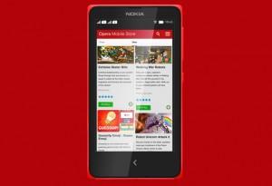 Giao diện Opera Mobile Store trên Nokia X