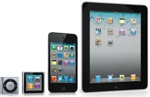 iPod, iPhone, iPad luôn thỏa mãn tuyệt đối như cầu của người dùng