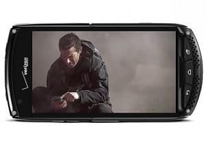 Chiếc smartphone màn hình sapphire đầu tiên, Kyocera Brigadier