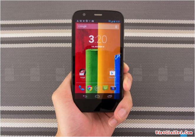Moto G 2013 – phiên bản phổ biến nhất của Motorola.