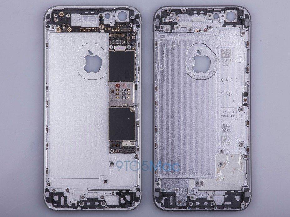 Rò rỉ về thiết kế của iPhone mới.