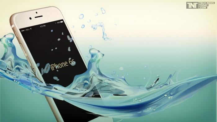 Nếu nghiên cứu thành công, những chiếc iPod Touch, iPhone giờ đây đã có thể chống được nước