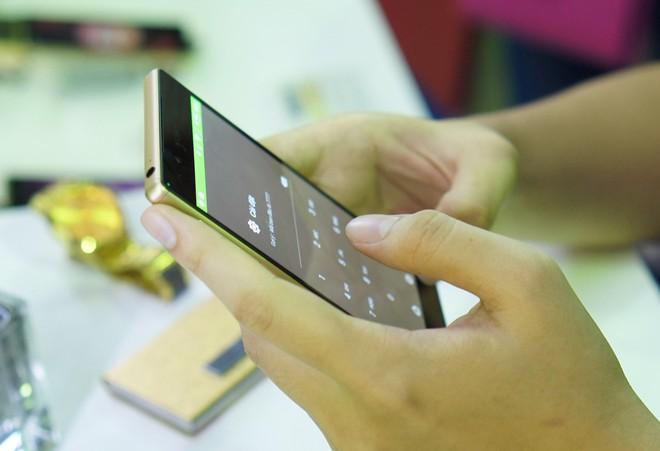 Xperia Z5 là smartphone cao cấp đáng chú ý sắp bán ra trong nước. Ảnh: Thành Duy.