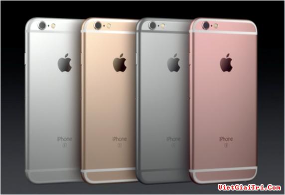 Giá iPhone 6S chính hãng năm nay có thể cao hơn 2014.