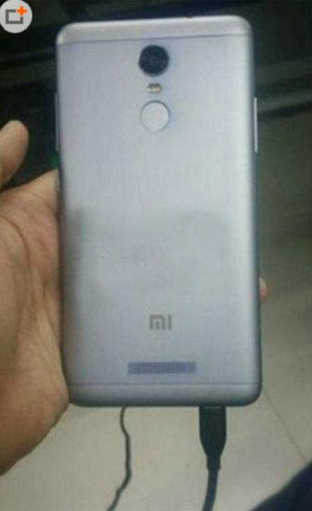 Hình ảnh đầu tiên bị rò rỉ về Redmi Note 2 Pro.
