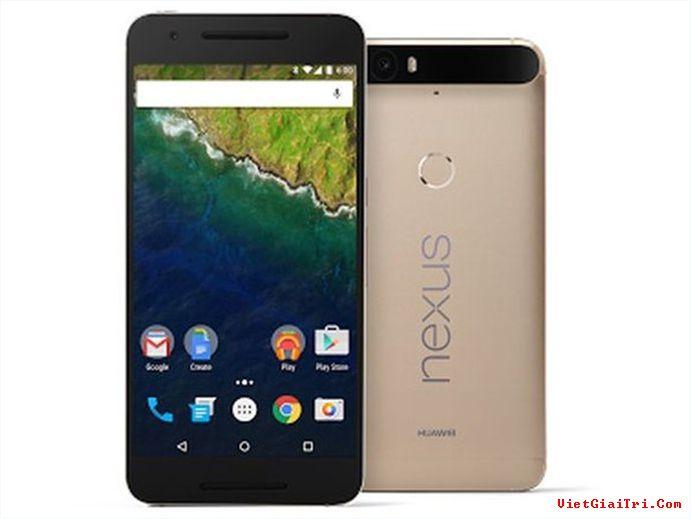 Phiên bản vàng đồng của Nexus 6P hiện chỉ dành riêng thị trường Nhật Bản