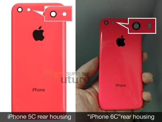Hình ảnh được cho là camera trên iPhone 6C.