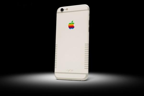 iPhone 6s Retro có ngoại hình về cơ bản giống iPhone 6s của Apple tuy nhiên đi kèm một số điểm thay đổi, nhấn nhá khác biệt.