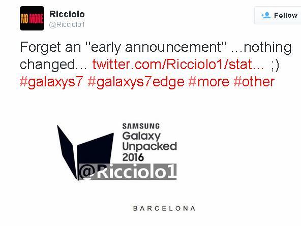 Ricciolo cho rằng không có gì thay đổi cả