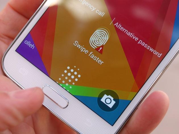Công nghệ cảm biến vân tay sẽ sớm có mặt trên các dòng sản phẩm tầm trung của Samsung. Ảnh: Internet