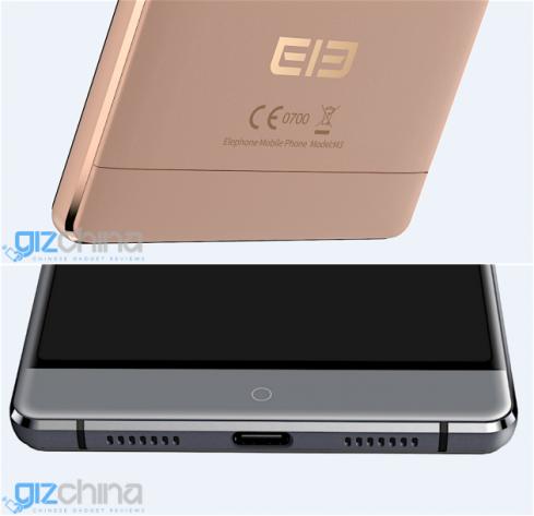 Thiết kế với dáng vẻ cao cấp của chiếc Elephone M3