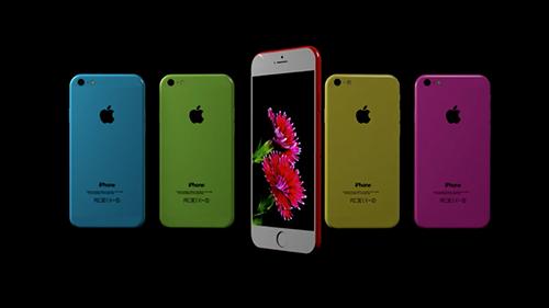 Ý tưởng iPhone 7c dùng vỏ nhựa nhiều màu, thiết kế giống iPhone 6s.