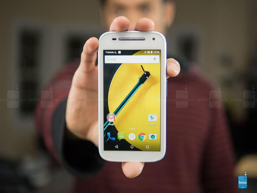 Moto E với phiên bản Android 6.0 Marshmallow. Ảnh: Internet