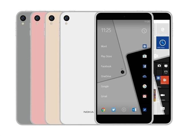 Những hình ảnh rò rỉ về chiếc Nokia C1.