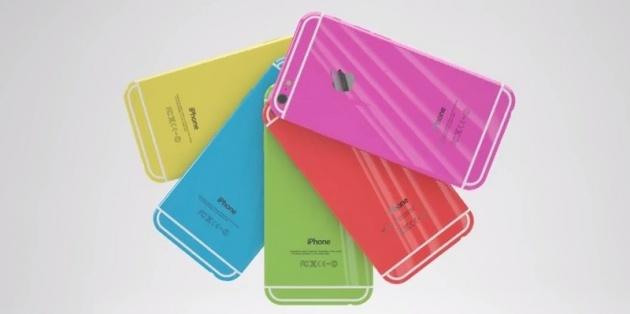 iPhone 6C sẽ có nhiều màu sắc, giữ nguyên thiết kế kim loại. Ảnh: Internet