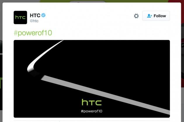 Hình ảnh đường viên kim loại đẹp mắt và sắc nét của HTC One M10 đầy quyền lực được đăng tải rạng sáng nay. Ảnh: Twitter