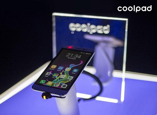 Một trong số những chiếc điện thoại mới ra mắt của Coolpad mobile.