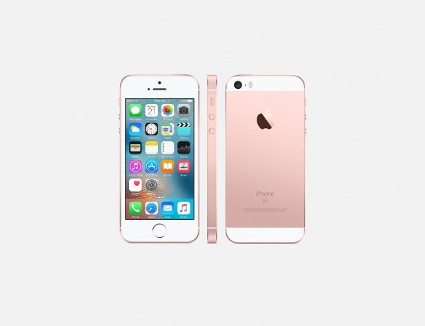 iPhone SE không có điểm khác biệt về thiết kế so với iPhone 5S. Ảnh: PhoneArena