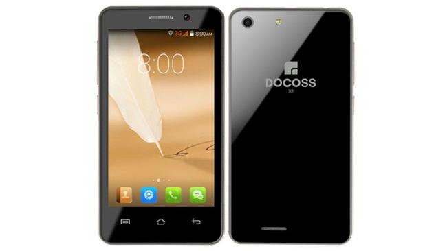 Thiết kế của chiếc smartphone giá siêu rẻ Docoss X1