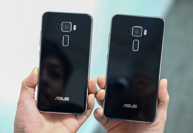 Asus tiến vào phân khúc smartphone cao cấp với dòng sản phẩm Zenfone 3. Ảnh: Duy Tín.