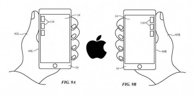 Bằng sáng chế mới iPhone cho phép người dùng dễ dàng sử dụng bằng một tay