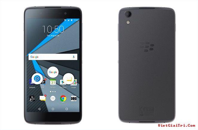 Mẫu DTEK50 (Neon) được BlackBerry ra mắt cuối tháng 7 vừa qua.