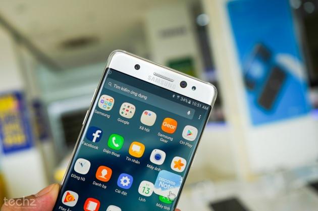 Người dùng Note 7 chính hãng tại Việt Nam sắp được đổi mới