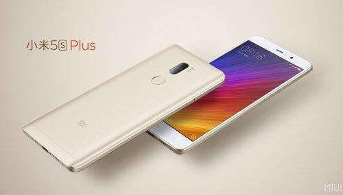 Xiaomi Mi 5s Plus có camera kép 13MP mặt lưng