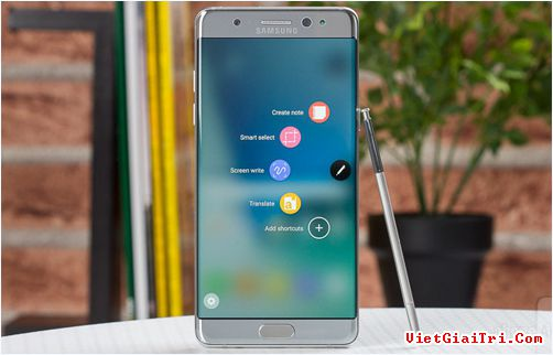 Galaxy Note 7. Ảnh: PhoneArena