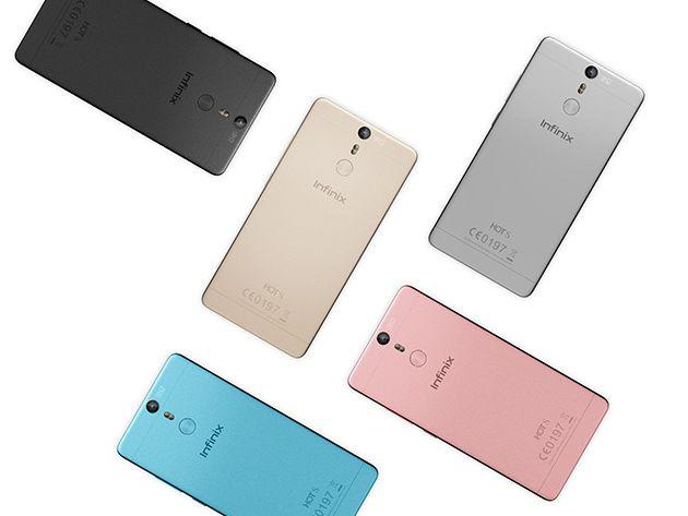 Hình ảnh 5 phiên bản màu sắc của Infinix Hot S.