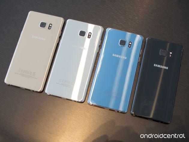 Note 7 Blue Coral là sự lựa chọn được ưu tiên khi sản phẩm này còn được bán trên thị trường. Ảnh: Androidcentral