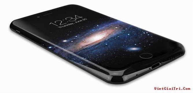 Một hình ảnh thiết kế iPhone 8 sử dụng màn hình cong. ẢNH CHỤP MÀN HÌNH