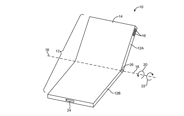 Bằng sáng chế màn hình cong của Apple