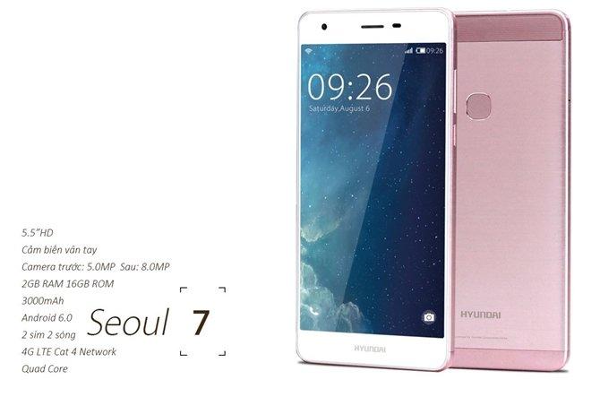 Mẫu máy Seoul 7 khá giống với Huawei P9
