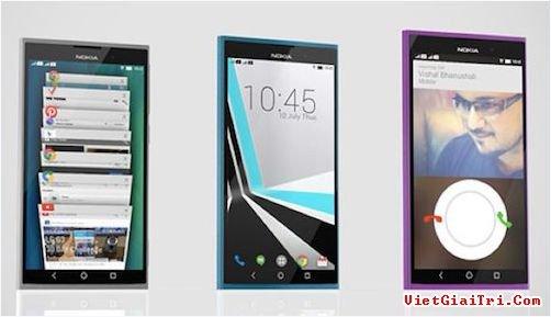 Một mẫu concept điện thoại Nokia.