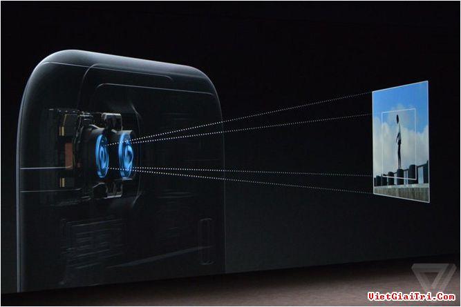Camera của mẫu iPhone 7 Plus đang gặp vấn đề. ẢNH THE VERGE