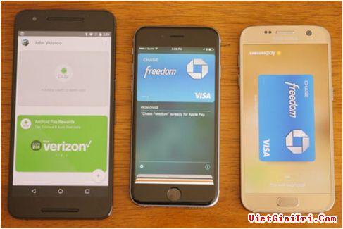 Thanh toán di động đang dần phổ biến trên nhiều smartphone hiện nay. ẢNH: ANDROIDAUTHORITY