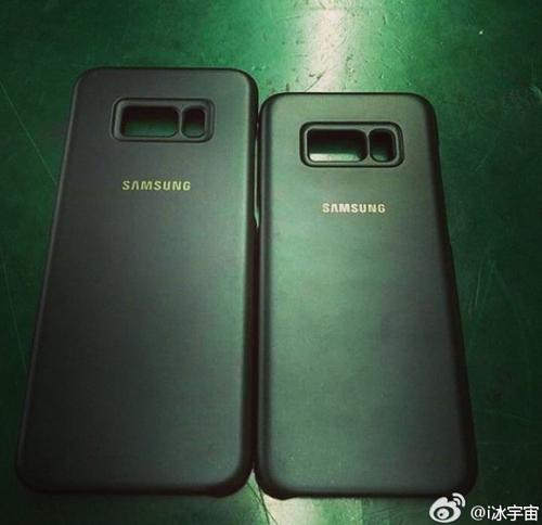 Vỏ Galaxy S8 và Galaxy S8 Plus đã lộ diện