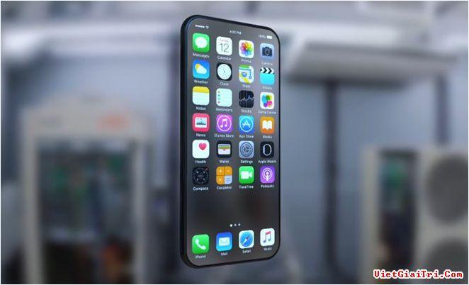 Bản concept iPhone 8 dựa trên các tin đồn. Ảnh: Conceptphone.